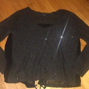 Pretty, sparkly sequin sweater